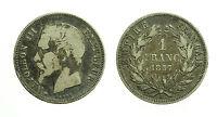 pci3509) Francia Napoleone III (1852-1870) - 1 Franc 1857 A
