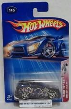 HOT WHEELS CADILLAC ESCALADE CRANK ITZ #145 BLACK 2004 DIECAST CAR NRFP hwd