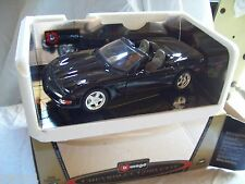 Chevrolet Corvette convertible1998 nera  1/18  BBurago Gold collection