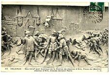 CPA 45 Loiret Orléans Bas relief place du Martroi Jeanne d'Arc blessée