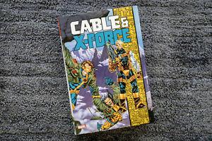 Cable & X-Force - Marvel Omnibus - Excalibur New Warriors Mutants X-Men 90's