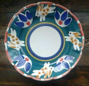 Pottery Barn Bunny Plates Garden Animals Salad Plate  Rabbit plate