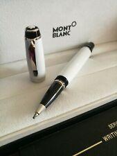 Montblanc Boheme White/Silver Resin Ballpoint Pen Signature