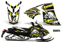 SIKSPAK Ski Doo Rev XR GSX Summit Snowmobile Graphic Kit Sled Wrap 2013+ RB YLW