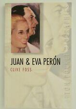 Juan and Eva Peron by Clive Foss PB Pocket Biography
