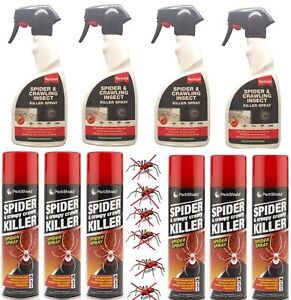 500ml Spider Creepy Crawly Crawling Insect Repellent Killer Spray Pest Control