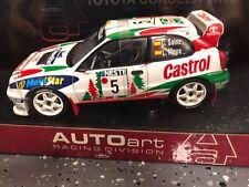 AUTOart Toyota Corolla WRC 1999 Rally Finland #05 Sainz/Moya 1:18 (80022) *NIB*