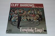 Cliff Barrows and The Gang~Everybody Sings!~Word Records~Christian Xian