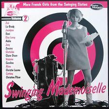RARE 33T LP SWINGING MADEMOISELLE VOLUME 2 / NEUF MINT + INSERT / ZOE / ADELE...