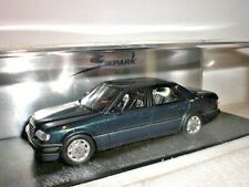 Spark 1020 - Mercedes Benz 500E 1986 met blue - 1:43 Made in China