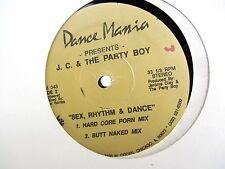 LP 12 Single - JC & The Party Boy - Sex Rhythm & Dance DM-043 - 3 mixes - marks