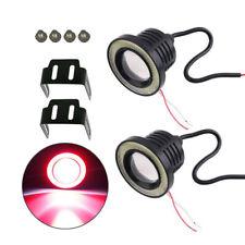 COB LED Fog Light Projector Angel Eye Halo Ring DRL Driving Bulbs 2.5/3/3.5/inch