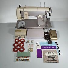 Vintage Sears Kenmore Model 52 Sewing Machine w/Manual, Cams, & Attachments