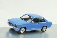 1973 Opel Kadett C Stufenheck 3 Türen Blau 1:18 KK Scale Diecast OVP