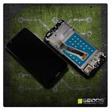 LCD Display für Original Huawei P Smart Komplettes Touchscreen Schwarz + Rahmen