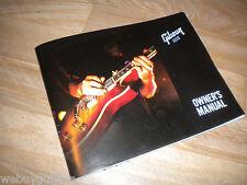 2012 Gibson Guitar Owners Manual Les Paul Jr SG ES 175 335 Flying V Explorer Mnt
