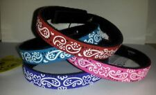 Beastie Band Cat Collars - =^.^= Purrfectly Comfy - Paisley Print