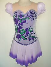 ICE SKATING / DANCE COSTUME SIZE Adult XS NEW
