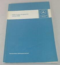 Officina Manuale introduzione MERCEDES w115 + w114/8/w108/w111 ecc. - 01/1968