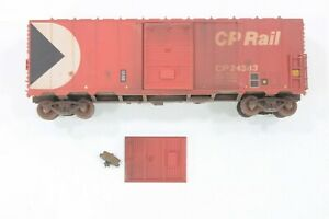 HO C&BT Shops Canadian Pacific 40ft SD Box Car, Excellent Weathering and Detail