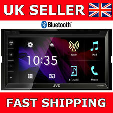 JVC-KW-V340BT Touch Screen Bluetooth Double Din DVD CD MP3 Player NEW MODEL