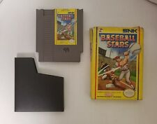 NES Baseball Stars  (Nintendo Entertainment System 1989) with Original Box