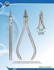 Orthodontic Long Beak Light wire Loop making Pliers Made in Germany 091