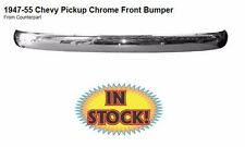 Counterpart 1947-55 Chevy Truck Front Chrome Bumper - 47-17755