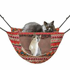 Cat Cage Hammock,Hanging Soft Pet Bed for Kitten Ferret Puppy Rabbit or Small Pe