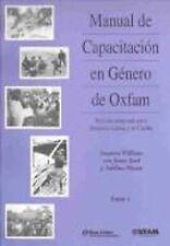 Manual de Capacitacion en Genero de Oxfam: Edicion adaptada para American Latina