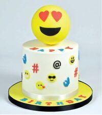 Fmm icône emoji cutter gâteau glaçage décoration décoration sugarcraft outil de coupe