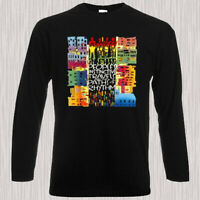 A Tribe Called Quest Peoples Album Men's Long Sleeve Black T-Shirt Size S to 3XL