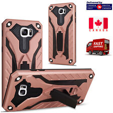 For Samsung Galaxy S7 Edge ShockProof Armour Builder Heavy Duty Stand Cover Case