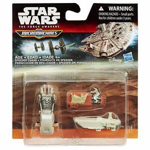 Star Wars Miniature Micro Machines 3 In A Pack - Speeder Chase