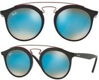 Ray-Ban Damen Herren Sonnenbrille RB4256 6252/B7 49mm New Gatsby I F D4 H