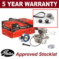 Gates Timing Belt Water Pump Kit For Citroen Ford Mazda Peugeot Toyota KP15587XS