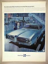 Pontiac LeMans PRINT AD - 1967 ~~ 1968 model ~ Le Mans
