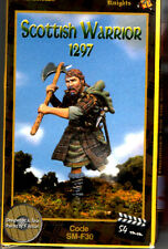 ANDREA MINIATURES SM-F30 - SCOTTISH WARRIOR (1297) - 54mm WHITE METAL