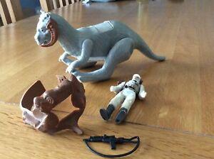 Vintage Star Wars Luke sky Walker Hoth Battle and Tauntaun