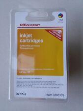 inkjet cartridges x 2 HP57 NEW