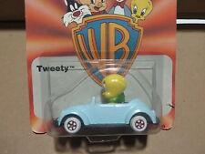 TWEETY PIE w/ VW BUG BEETLE ERTL # 2703 WB LOONEY TUNES 1988 DIE CAST METAL MOC