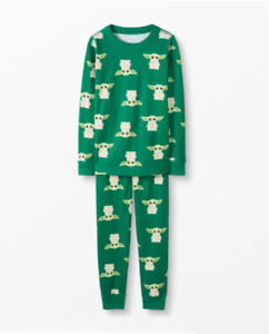 Hanna Andersson - Star Wars Grogu Pajamas In Organic Cotton The Child - SALE