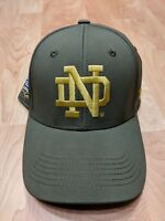 S M Notre Dame 2016 Shamrock Series Under Armour Hat Green W Gold NWT b8ba3c420