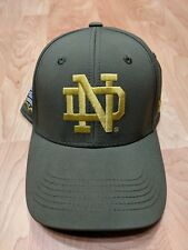 0377f093b5a S M Notre Dame 2016 Shamrock Series Under Armour Hat Green W Gold NWT