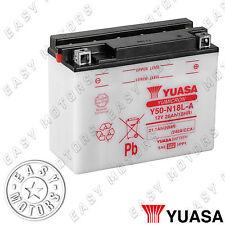 BATTERIA YUASA Y50-N18L-A HONDA GL GOLDWING 1500 1991>1999