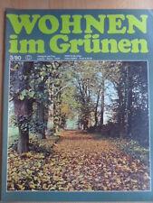 WOHNEN IM GRÜNEN 3 - 1980 DDR-Journal Garten Pflanzen Blumen Obst Gemüseanbau