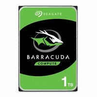 Seagate BarraCuda 1TB Internal Hard Drive HDD – 3.5 Inch SATA 6 Gb/s 7200... New