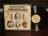 "Waylon Jennings, Jesi Colter, Willie Nelson ""The Outlaws"" LP 1976 RCA Stereo"