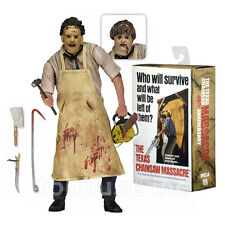 "7"" ULTIMATE LEATHERFACE figure THE TEXAS CHAINSAW MASSACRE neca 40th ANNIVERSARY"