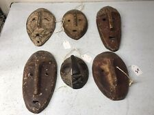 African Masks Lot